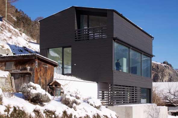 hochsitz in haldenstein. Black Bedroom Furniture Sets. Home Design Ideas