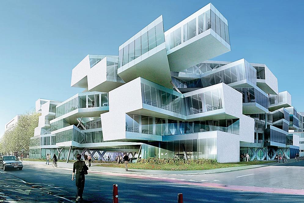 Wieso leistet sich actelion architektur for Architektur basel